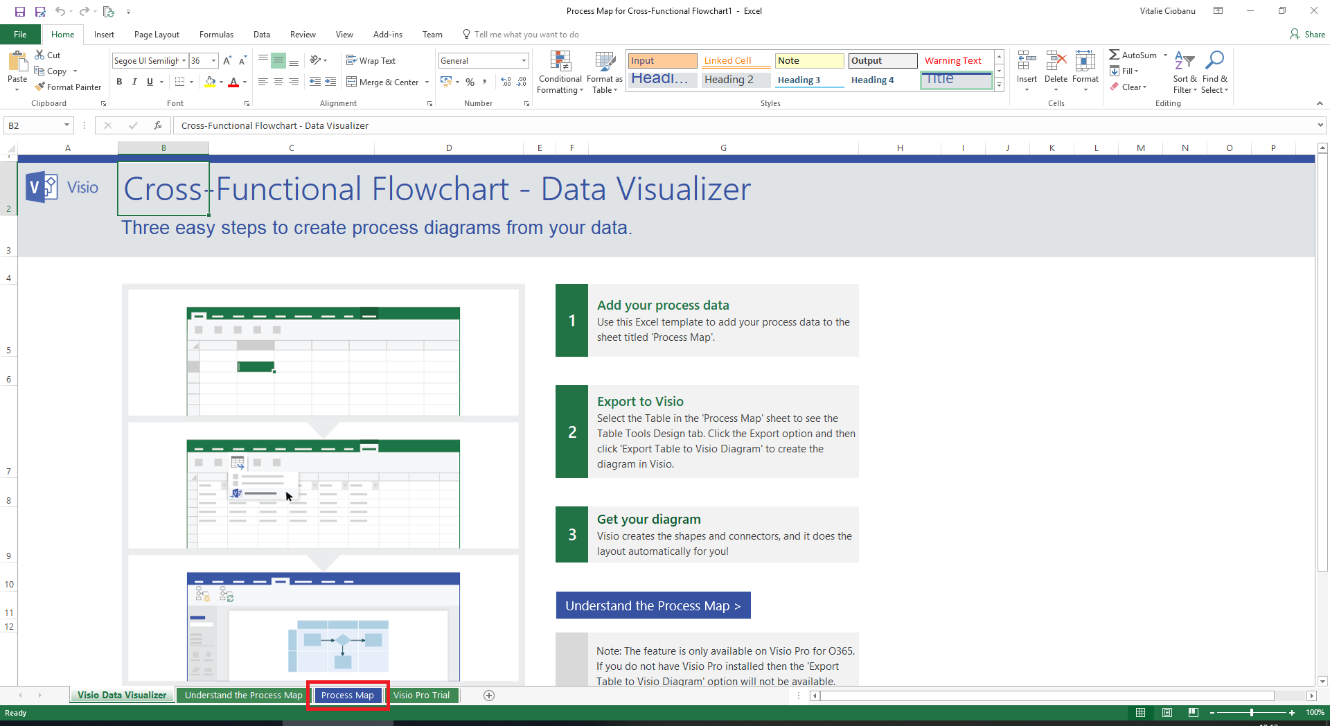 How to automatically create and update Visio diagrams from